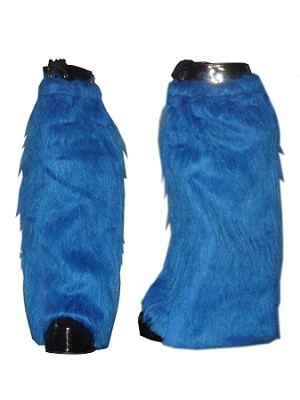 Shag Fur Boot Covers